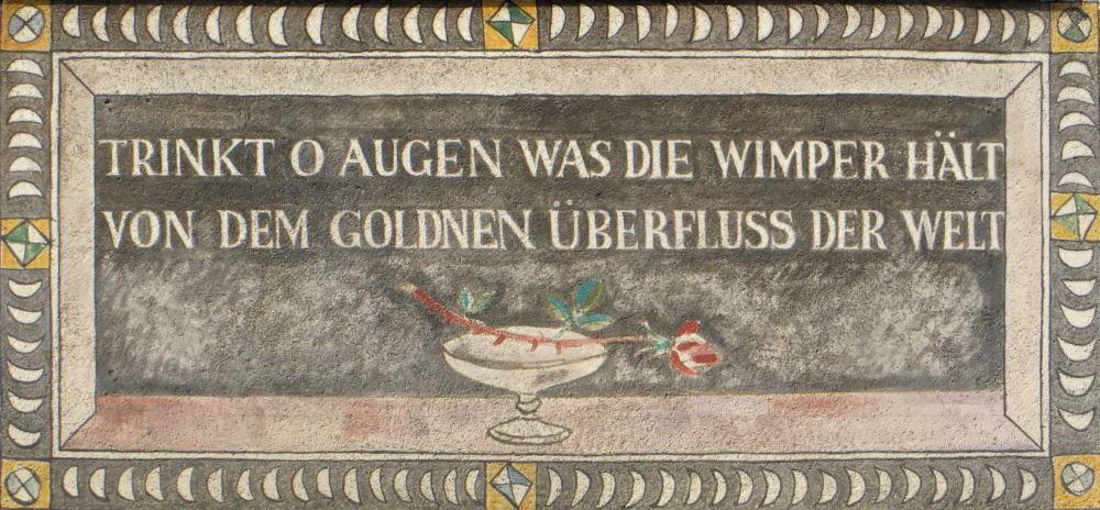 Stein am Rhein: Neben Zum weißen Adler, Ausschnitt (25.7.2018; Foto: Meyerbröker)