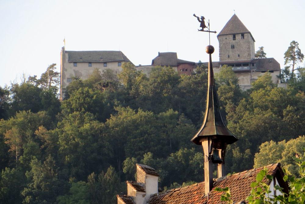 Stein am Rhein: Burg Hohenklingen (25.7.2018; Foto: Meyerbröker)