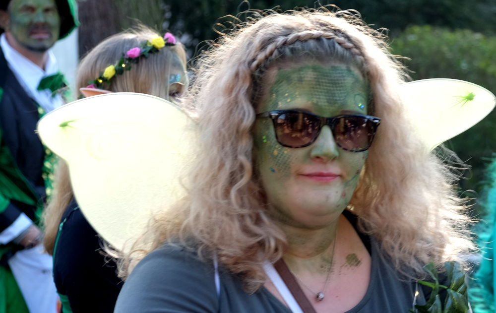 Karnevalsumzug 2019: Fußgruppe (23.2.2019; Foto: Klare)