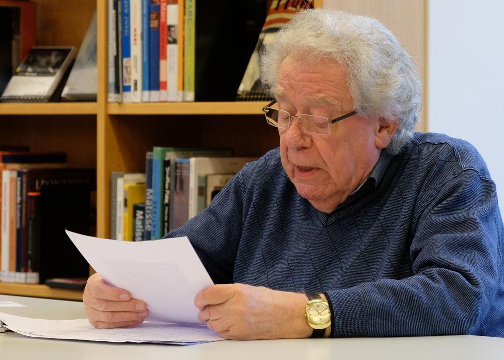 Günter Rohkämper-Hegel (13.3.2019; Foto: Klare)
