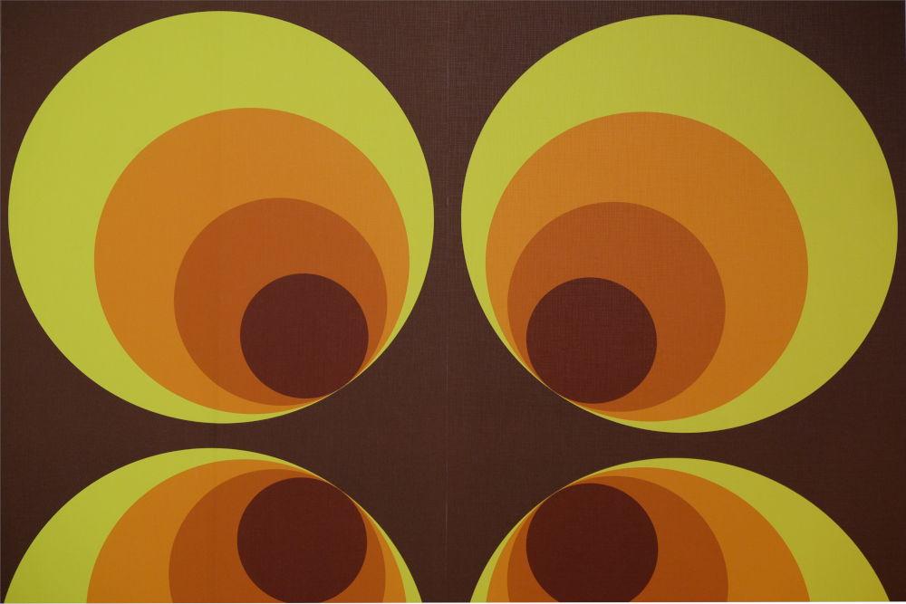 Muster und Farben der 60er (17.3.2019; Foto: Klare)
