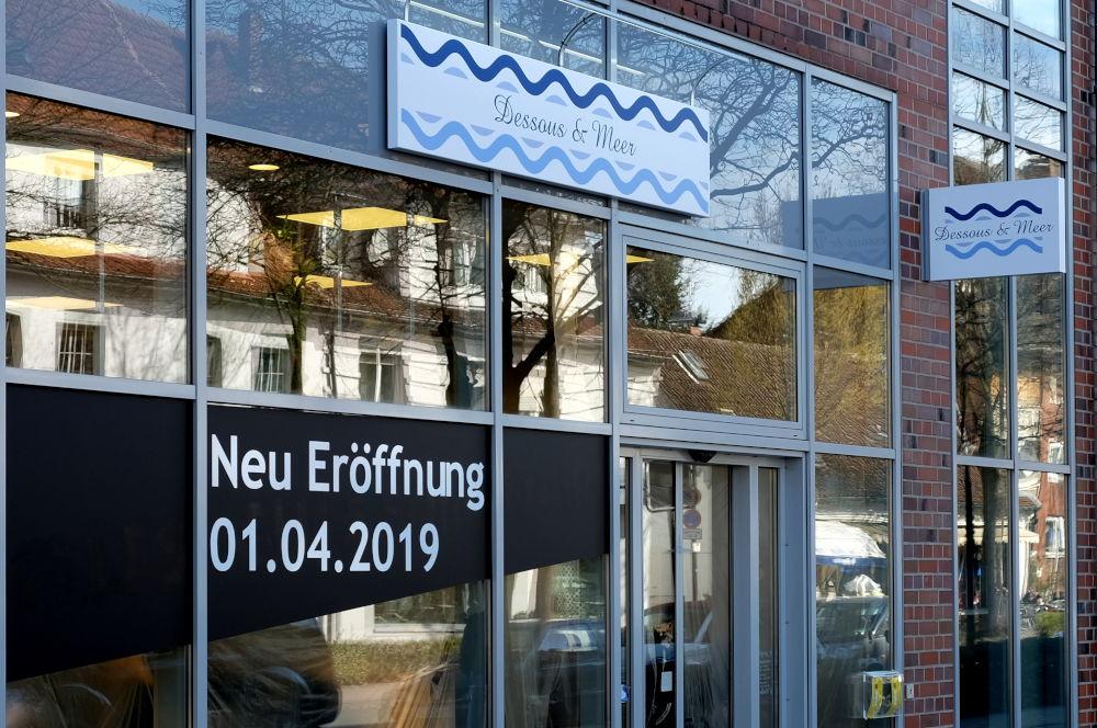 Der nächste Anlauf in der Marktallee 42: Dessous & Meer (24.3.2019; Foto: Klare)