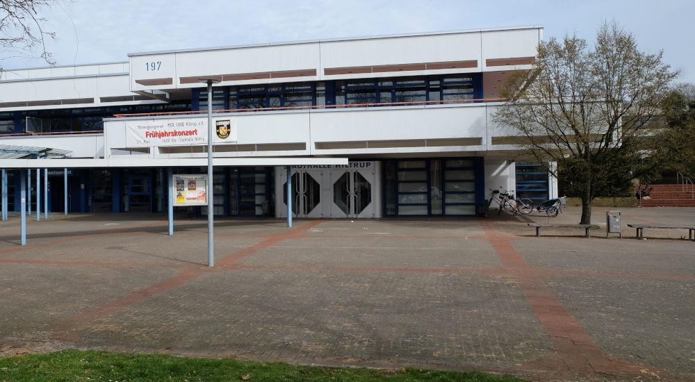 Stadthalle Hiltrup (24.3.2019; Foto: Klare)