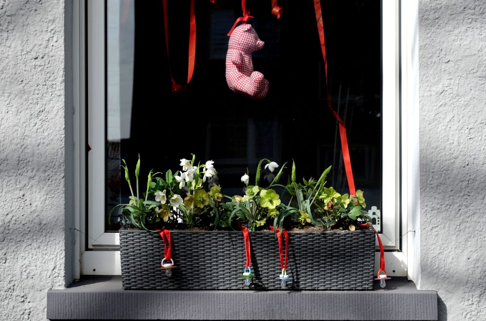 Bärchen mit Schnullern (24.3.2019; Foto: Klare)