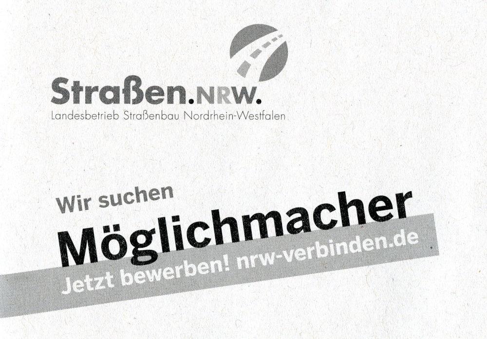 Briefumschlag von Straßen NRW (21.6.2019)
