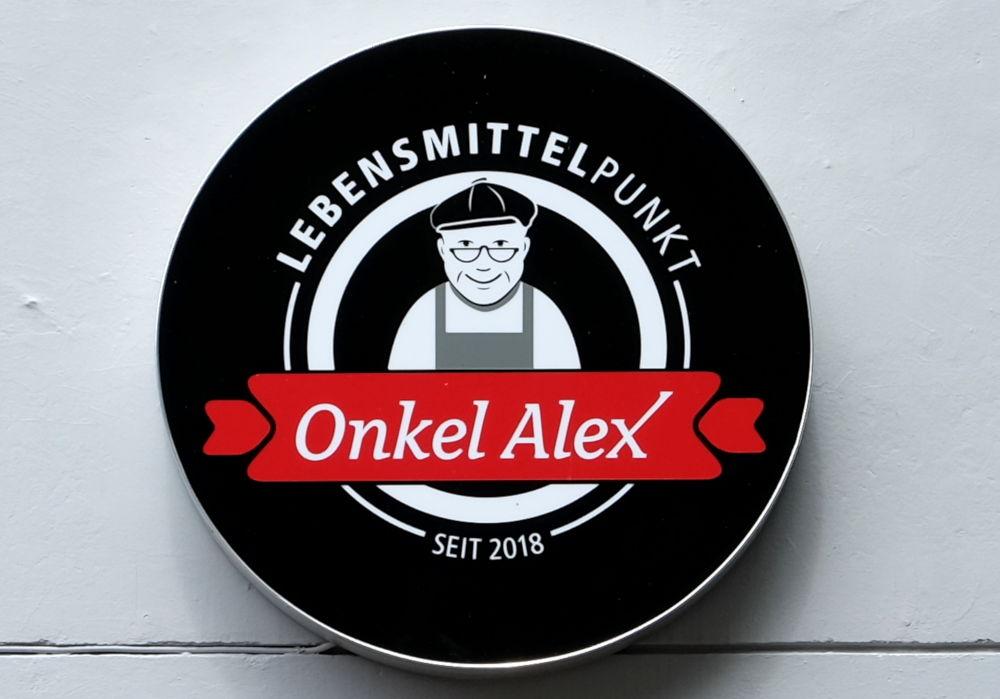"""2019 eröffnet: Der """"Lebensmittelpunkt"""" an der Marktallee (3.8.2019; Foto: Klare)"""