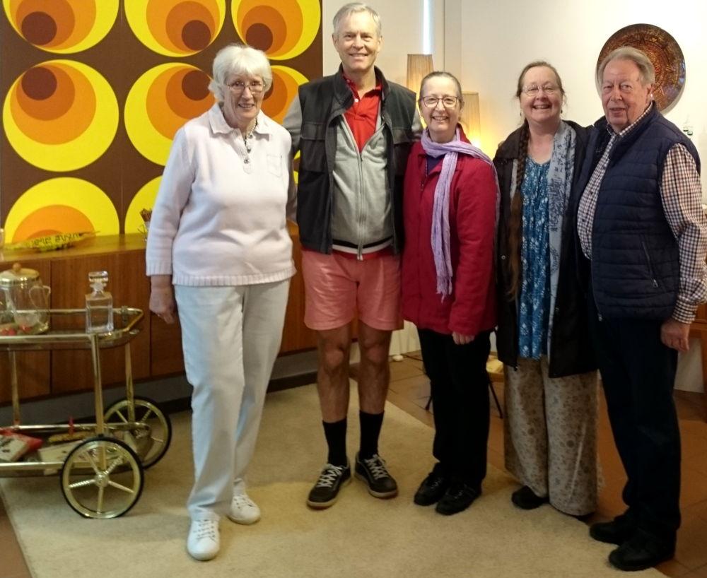 Australische Gäste zu Besuch im Hiltruper Museum (15.8.2019; Foto: Klare)