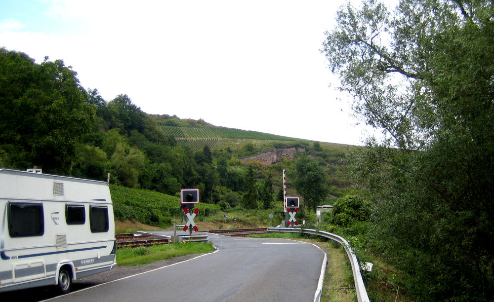 Zwischen Norheim und Niederhausen an der Nahe (9.9.2019; Foto: Klare)