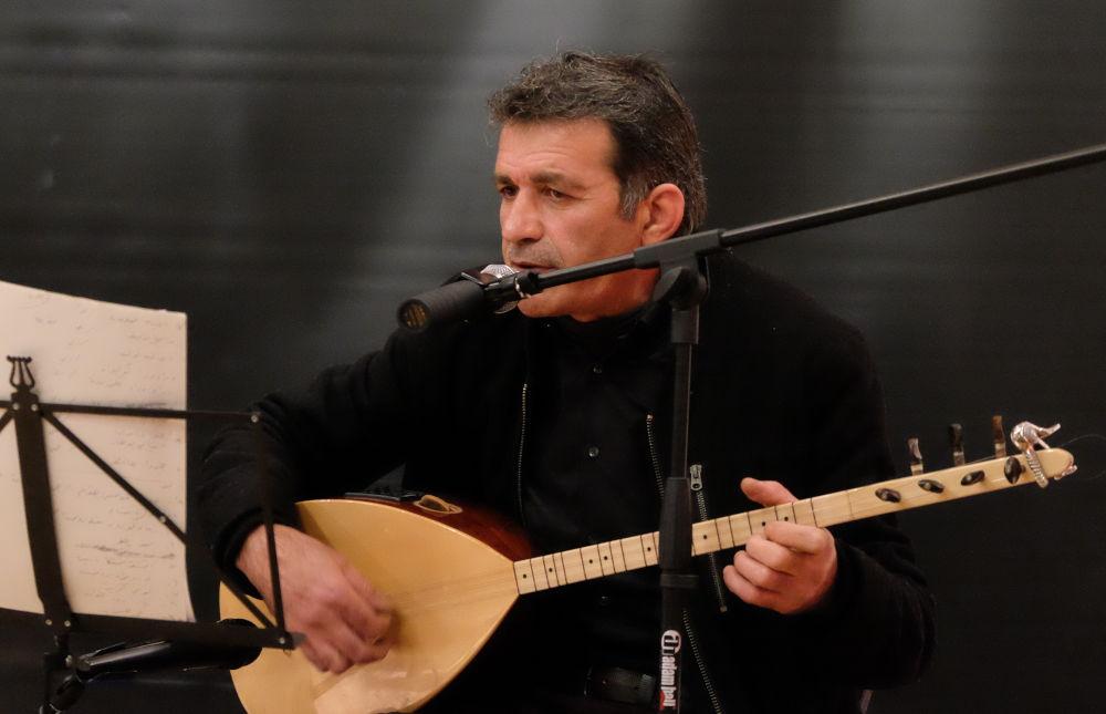 Muhemed Almahmud (Kulturbahnhof, 4.10.2019; Foto: Klare)