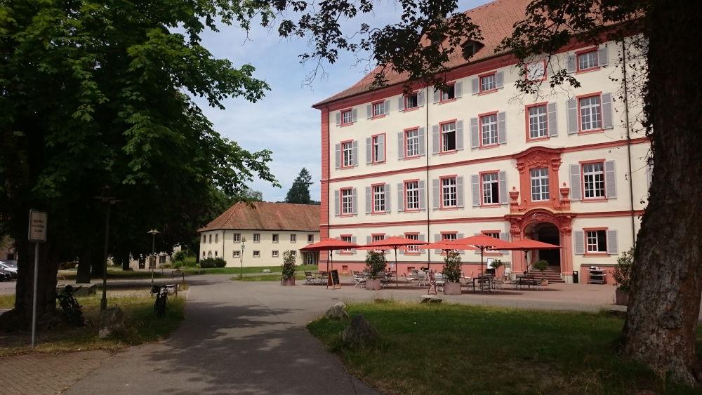 Neues Schloss Beuggen (6.7.2019; Foto: Klare)