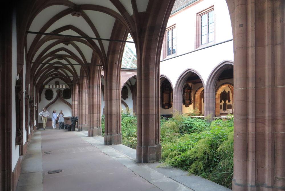 Kreuzgang (Münster Basel, 6.7.2019; Foto: Meyerbröker)