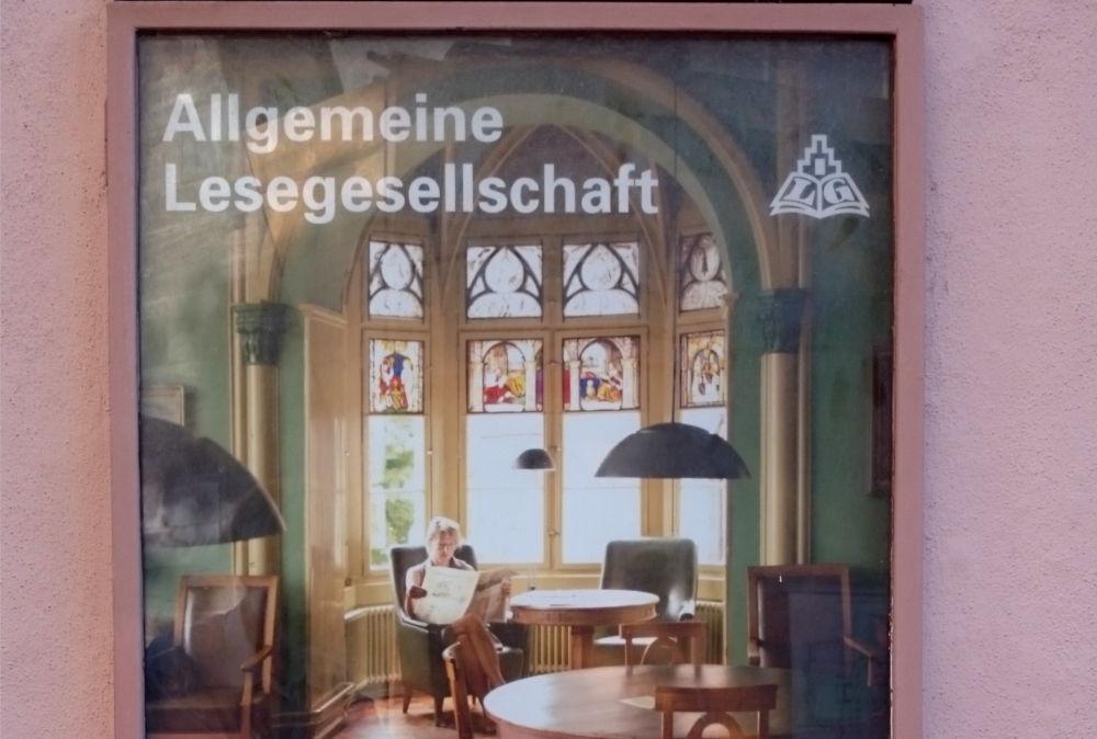 Allgemeine Lesegesellschaft (Basel, 6.7.2019; Foto: Klare)