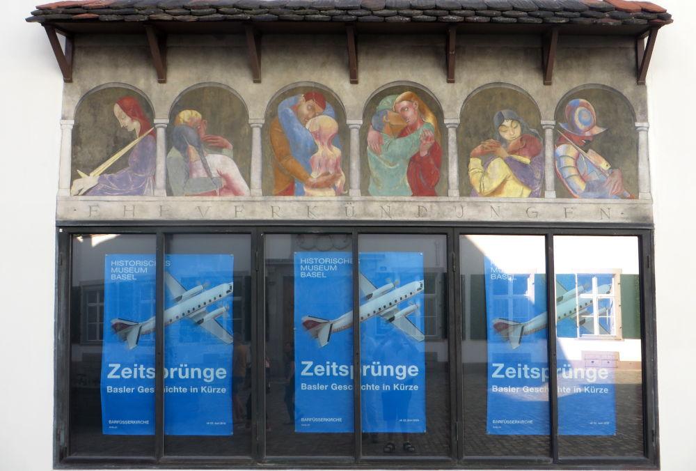 Ehe und Zeitsprung (Basel, 6.7.2019; Foto: Meyerbröker)