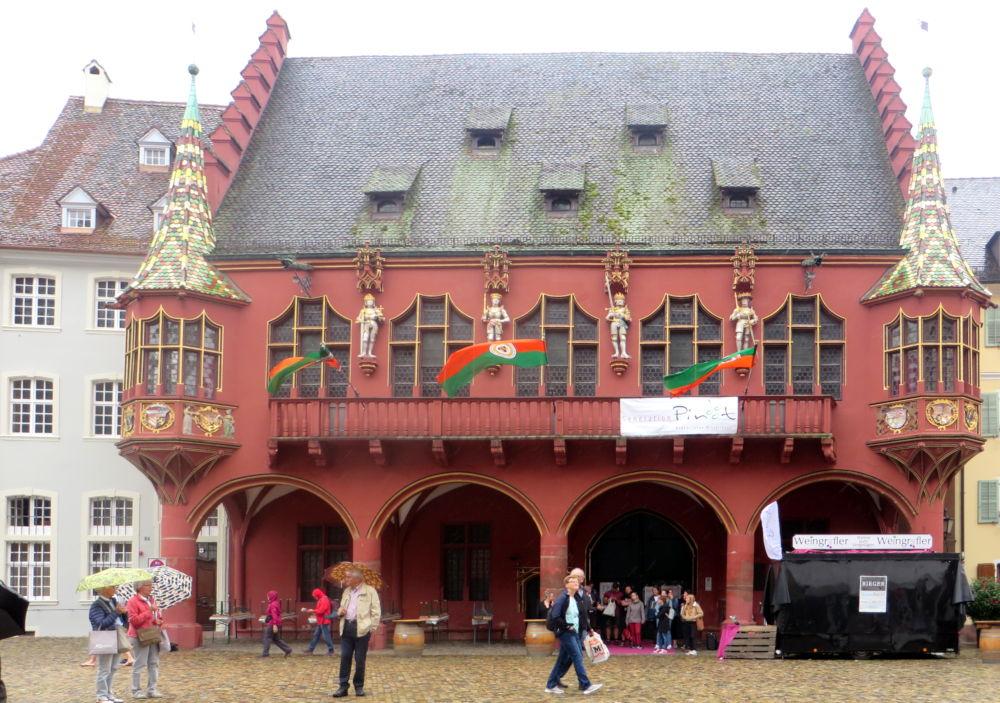 Historisches Kaufhaus Freiburg (8.7.2019; Foto: Meyerbröker)