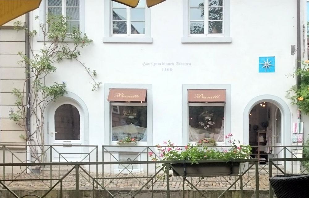 Zum blauen Sternen (Freiburg, 8.7.2019; Foto: Klare)