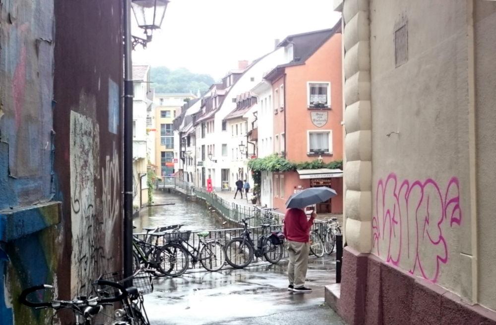 Fischerau (Freiburg, 8.7.2019; Foto: Klare)