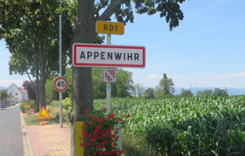 Appenwihr (9.7.2019; Foto: Meyerbröker)