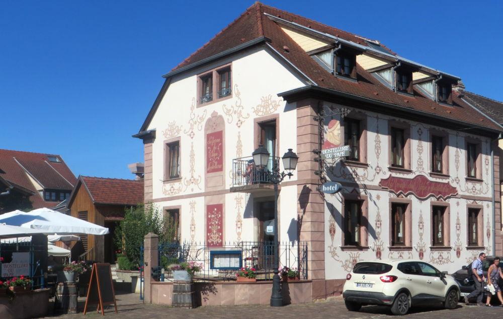 Eguisheim: Ferme du Pape (9.7.2019; Foto: Meyerbröker)