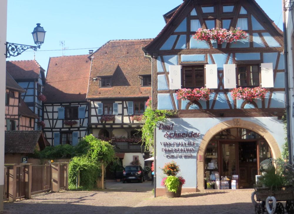 Vins d'Alsace Paul Schneider (Eguisheim, 9.7.2019; Foto: Meyerbröker)