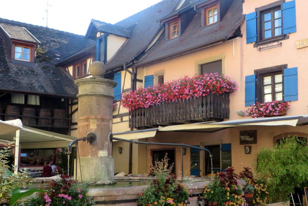 Auberge du Rempart (Eguisheim, 9.7.2019; Foto: Meyerbröker)