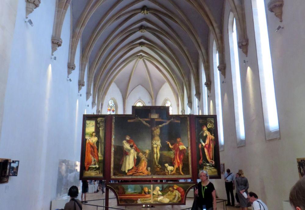 Isenheimer Altar (10.7.2019; Foto: Meyerbröker)