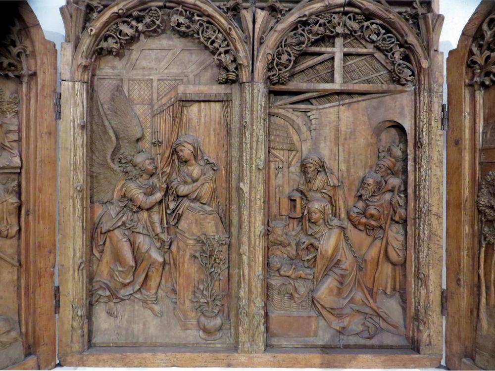 Bergheimer Altar (10.7.2019; Foto: Meyerbröker)