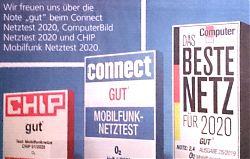 Inserat von O2 in der Süddeutschen Zeitung (5.12.2019, Ausschnitt)