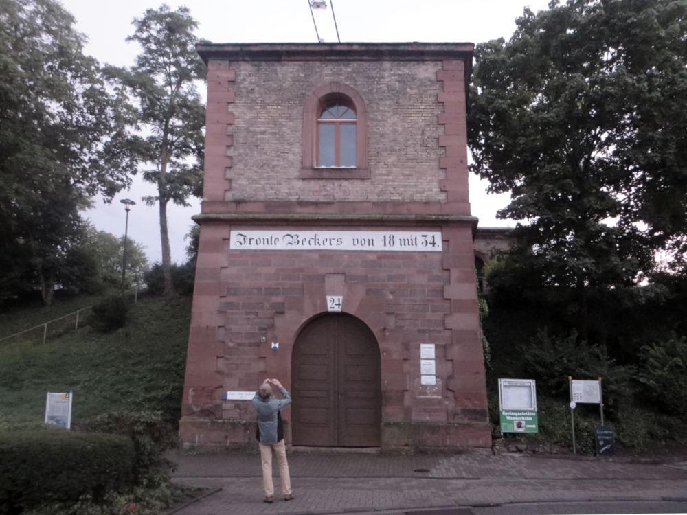 """Fronte Beckers"" (Germersheim, 13.7.2019; Foto: Meyerbröker)"