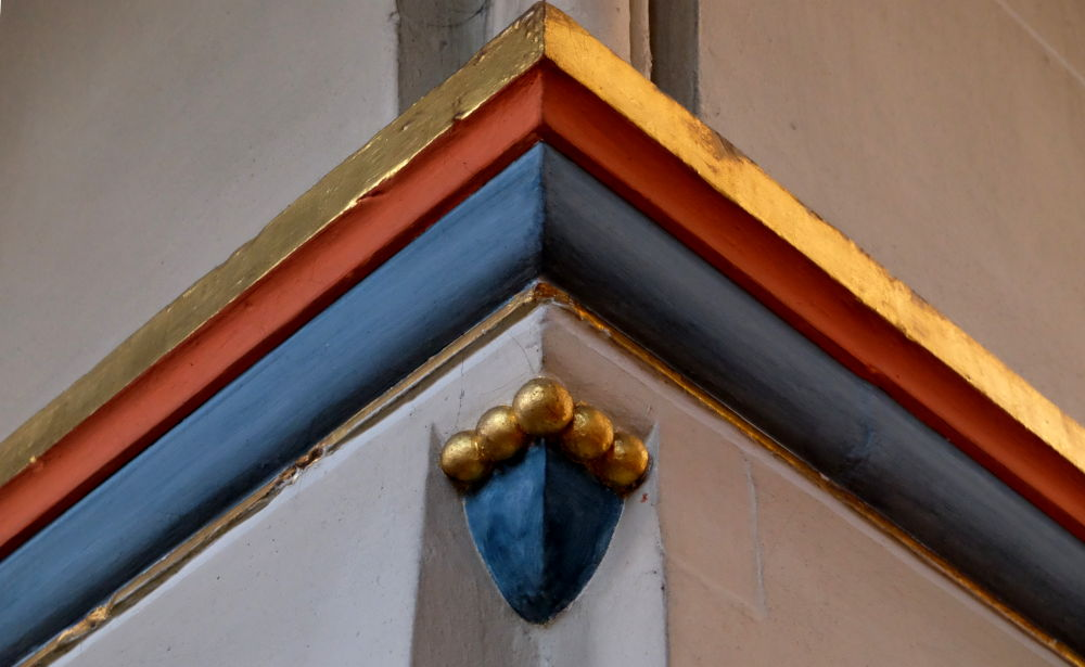 Kapitell in St. Clemens Hiltrup (21.1.2020; Foto: Klare)