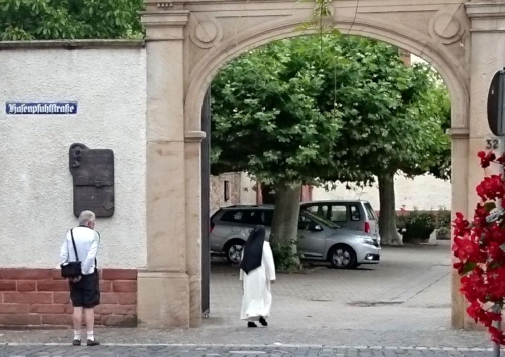 Kloster der Dominikanerinnen (Speyer, 14.7.2019; Foto: Klare)