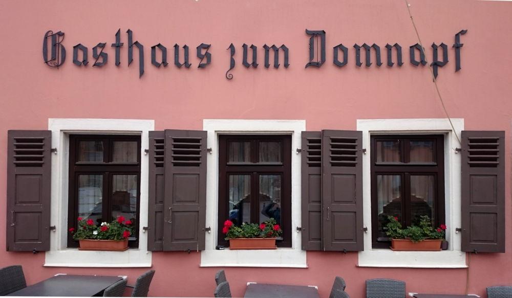 Gasthaus zum Domnapf (Speyer, 14.7.2019; Foto: Klare)