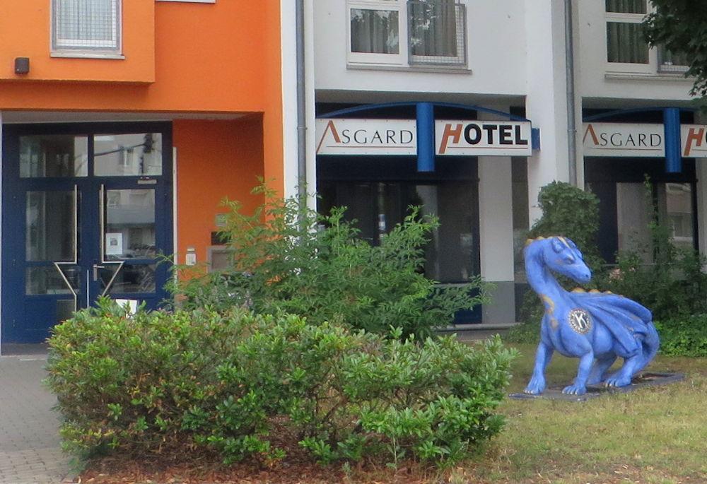 Hotel Asgard (Worms, 14.7.2019; Foto: Meyerbröker)