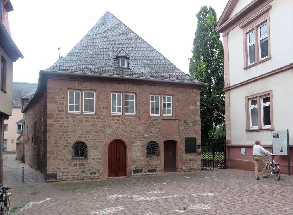 Synagoge (Worms, 14.7.2019; Foto: Meyerbröker)
