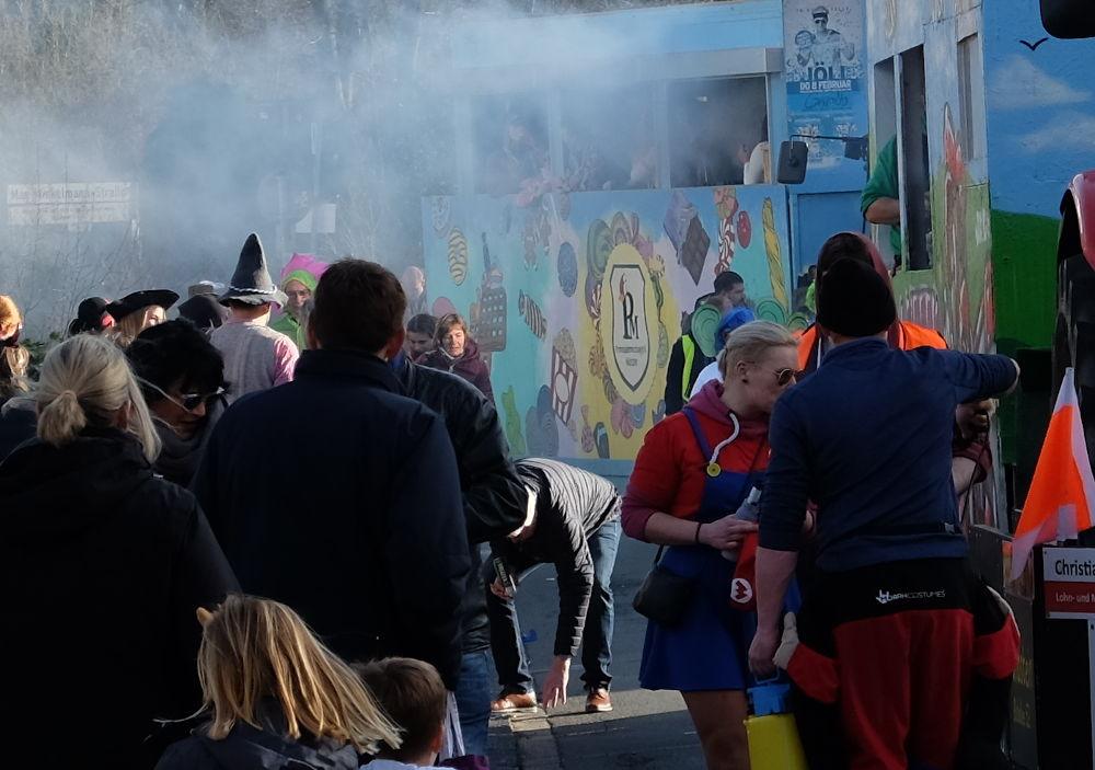 Hiltrup macht Dampf (15.2.2020; Foto: Klare)