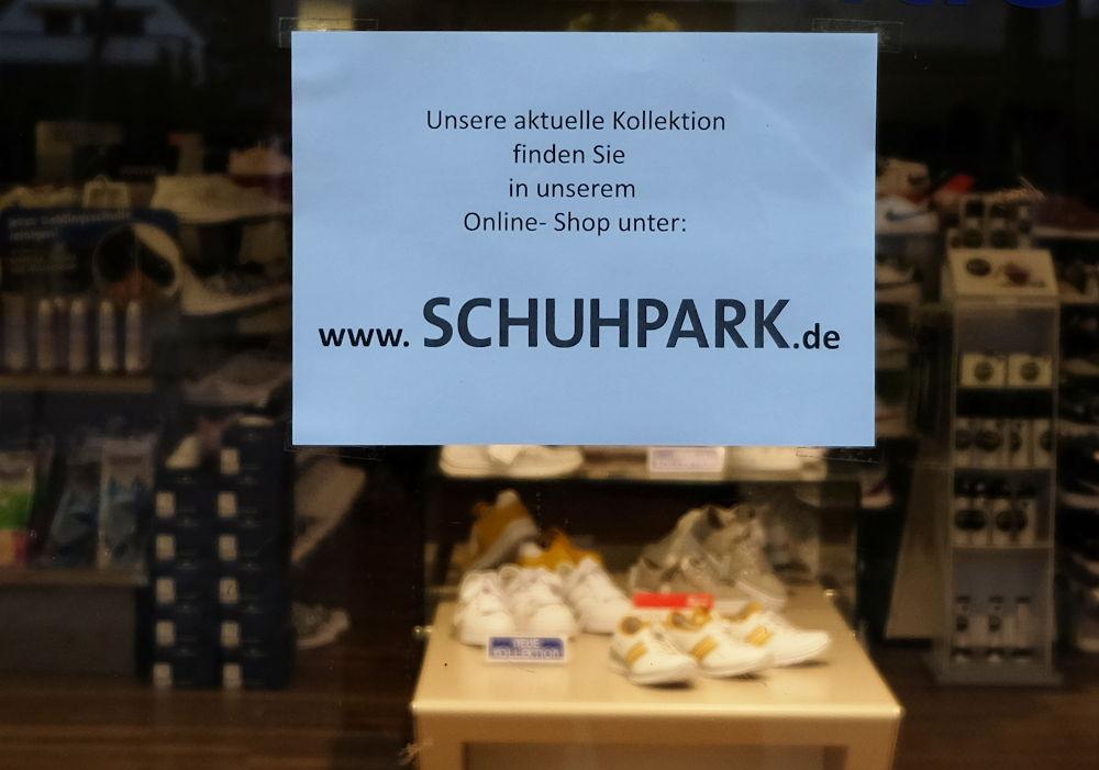 Schuhpark.de statt Amazon (20.3.2020; Foto: Klare)