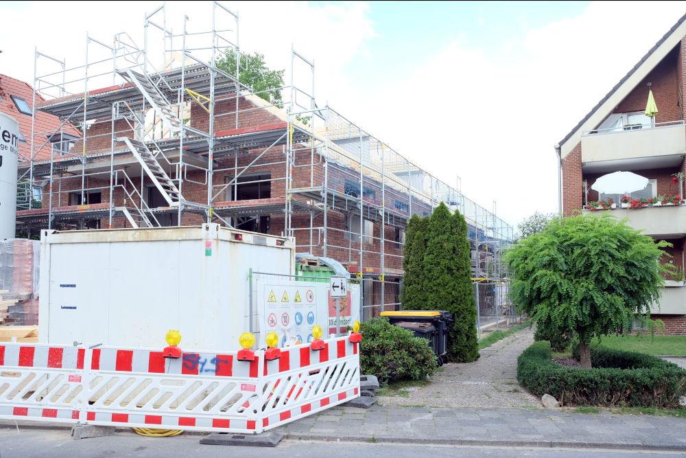 Baustelle Am Klosterwald 9 (25.6.2020; Foto: Klare)