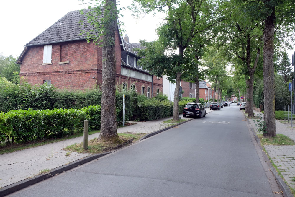 Max-Winkelmann-Straße in Hiltrup (29.6.2020; Foto: Klare)