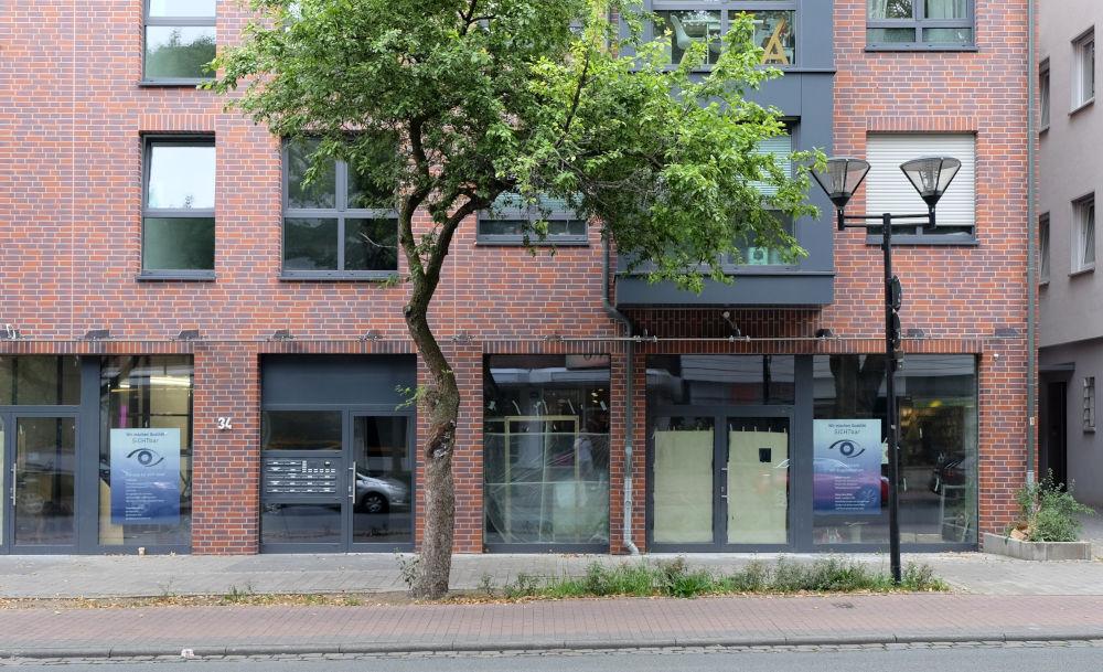 Marktallee 34: Ladenlokal ohne Laden (11.8.2020; Foto: Klare)