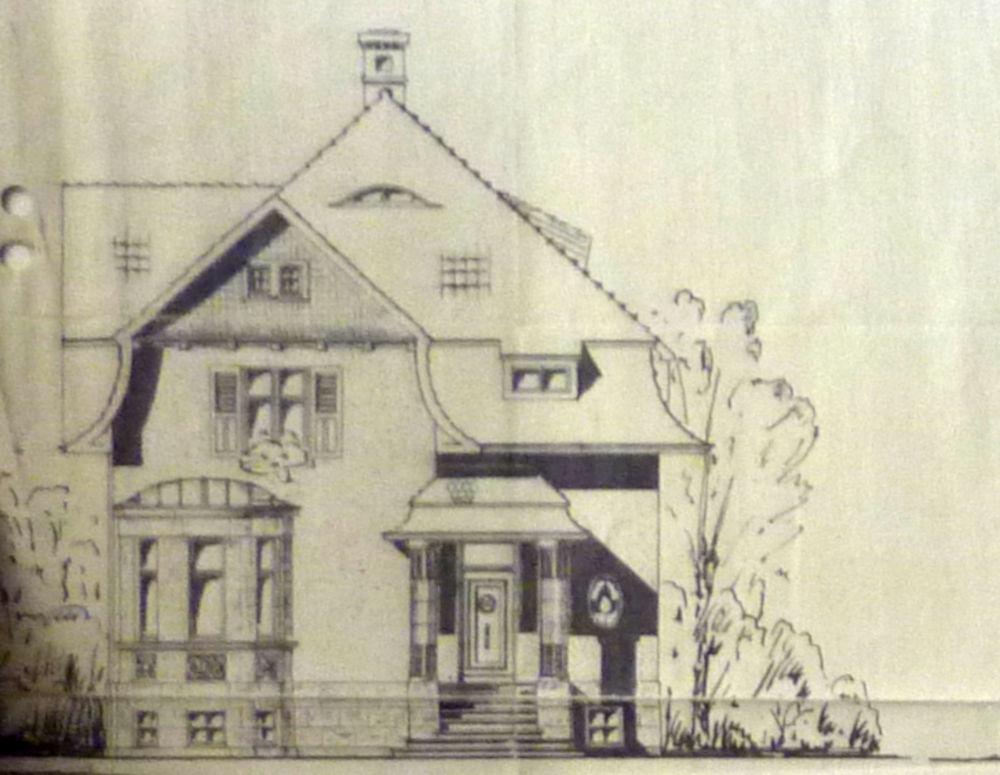Klosterstraße 4: Bauantrag im Januar 1916
