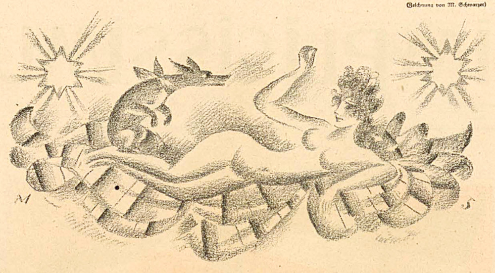 """Aus dem """"Simplicissimus"""" (7.4.1920)"""