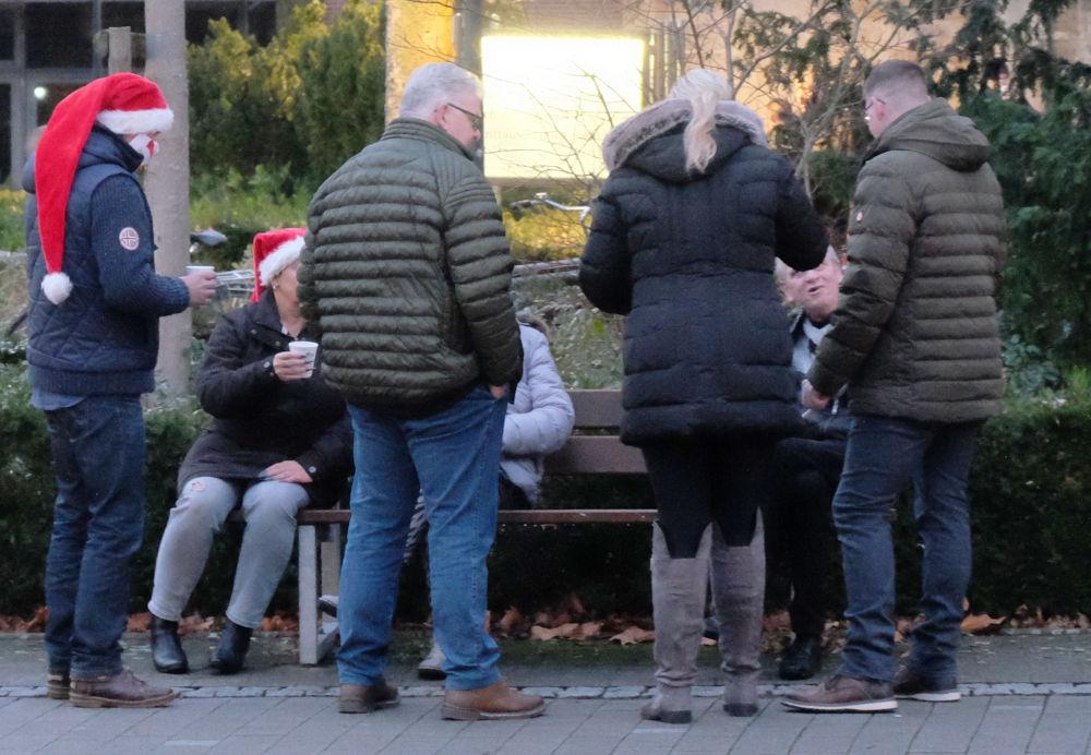 Lustiges Grüppchen (13.12.2020; Foto: Henning Klare)