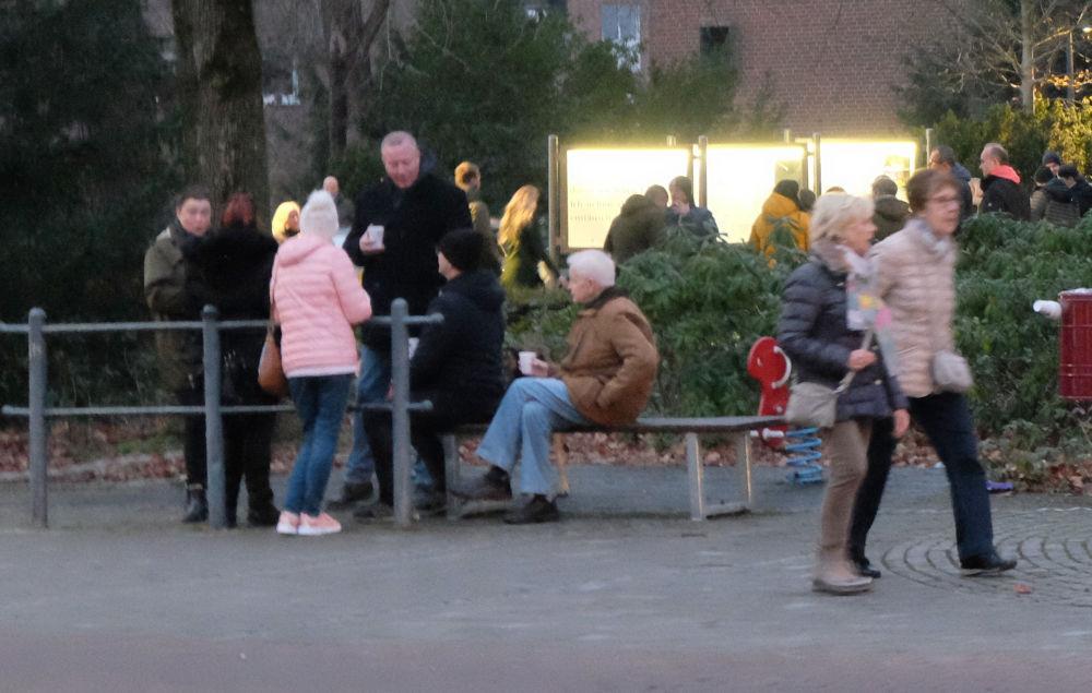 Glühweintreff (13.12.2020; Foto: Henning Klare)