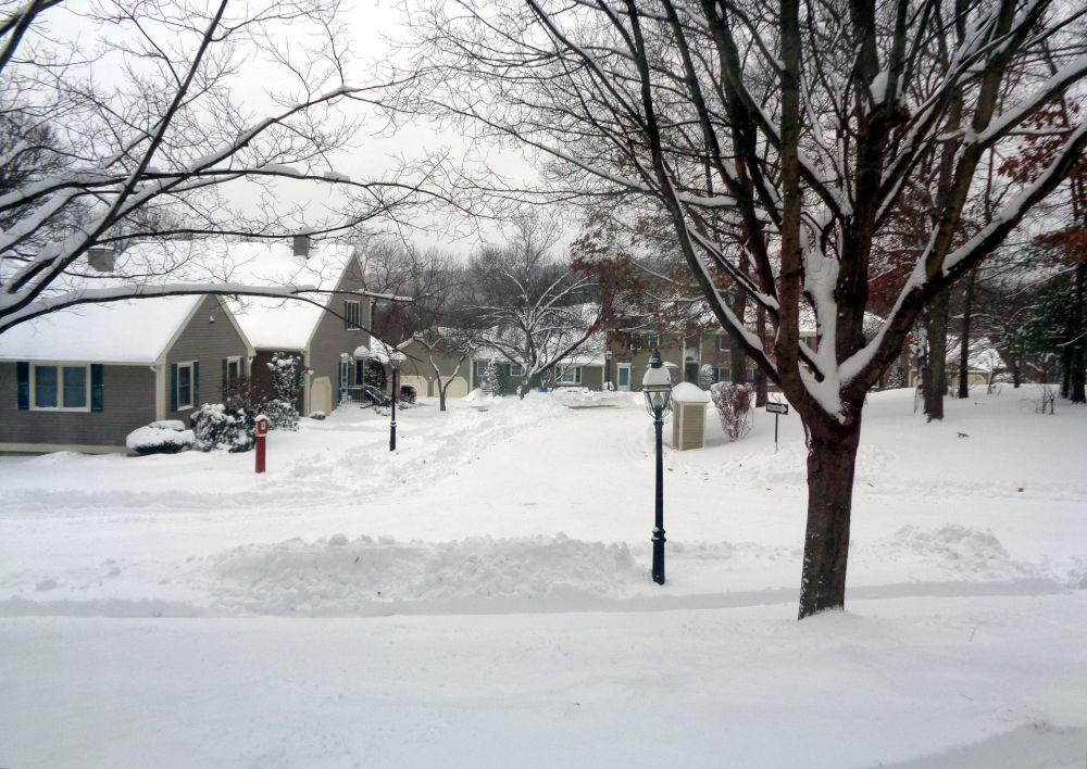 Boston: Nach dem Schneesturm (17.12.2020)