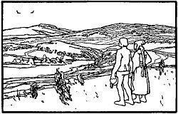 Jorinde und Joringel, Illustration von Otto Ubbelohde (1909)