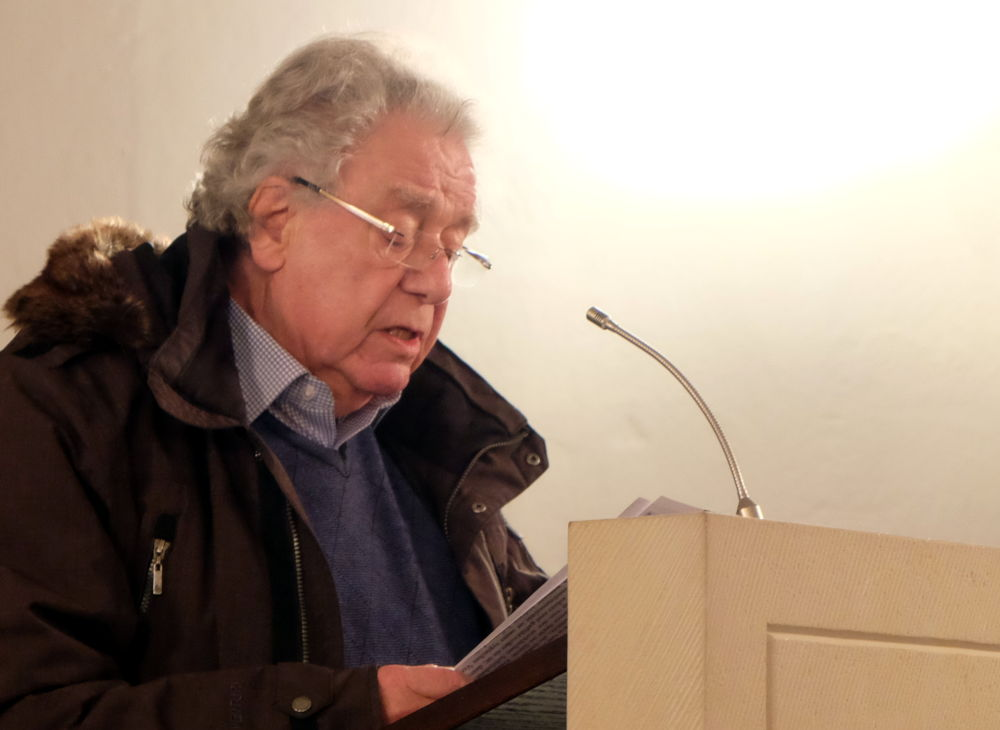 Günter Rohkämper-Hegel, VorLeseClub Hiltrup (Foto: Henning Klare)