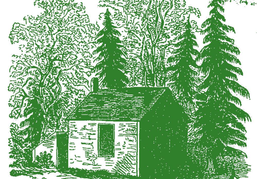 Illustration zu Henry David Thoreau: Walden (1854; bearbeitet)