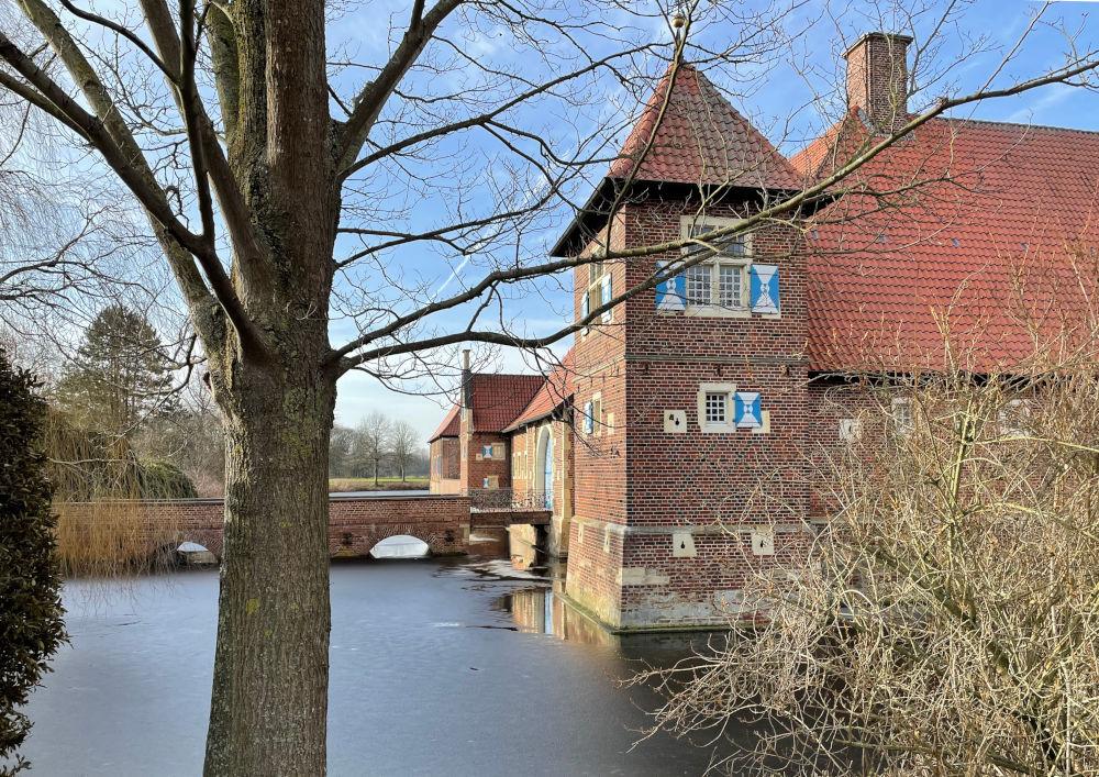 Haus Borg (Rinkerode, 20.2.2021; Foto: Henning Klare)