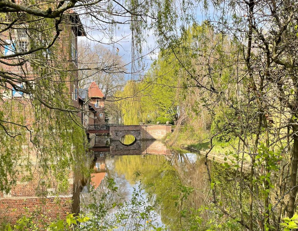 Haus Borg im Mai (Rinkerode, 20.2.2021; Foto: Henning Klare)