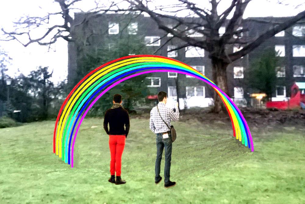 Ein Regenbogen für Berg Fidel? (Animation: Julia Nissen)