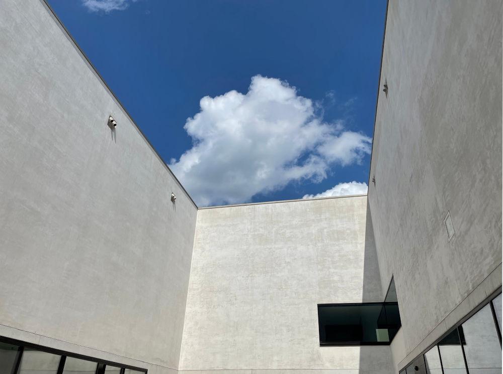 LWL-Museum für Kunst und Kultur: Der Himmel ein Kunstwerk (25.7.2021; Foto: Henning Klare)